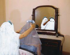 "Angela Deane, ""Ghost Photographs"" : Blue Veil"