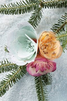 #Anthropologie Vinebud Ornament