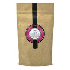 Natural Exfoliating Coffee Scrub for Face & Body Damask Rose Oil  150g | Oli-Oly #OliOly