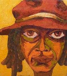 Jimnah Kimani- Intense - Oil on canvas - 81 x 65 cm African Artists, Oil On Canvas, Contemporary Art, Art Gallery, My Arts, Artwork, Painting, Art Museum, Work Of Art
