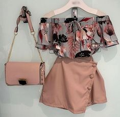 Outfits for spring Blusa Bluse Cute Casual Outfits, Cute Summer Outfits, Girly Outfits, Pretty Outfits, Stylish Outfits, Fall Outfits, Stylish Dresses, Girls Fashion Clothes, Teen Fashion Outfits