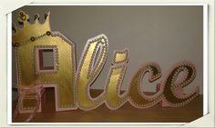 Letras 3d princesa #brasilearte #janavasconcellos #Novidadesbrasilearte