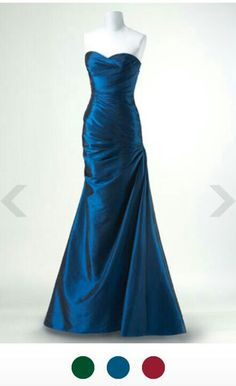 Marine corps ball gown