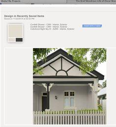 1000 Images About Exterior Colour Schemes On Pinterest