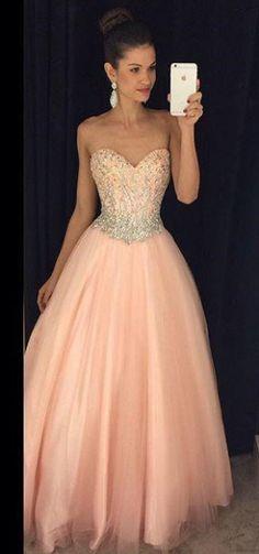 Sweetheart Beading Prom Dress,Long Prom Dresses,Charming Prom Dresses,Evening Dress Prom Gowns, Formal Women Dress,prom dress