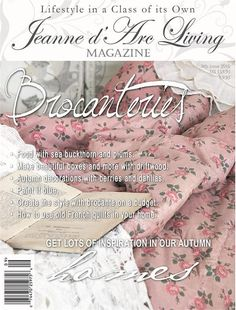 Jeanne d' Arc Living Magazine - 2016 9th Issue - Ships the last week in August The Orator, How To Make Box, Living Magazine, Martha Stewart, Parisian, Fall Decor, Magazines, September, Etsy