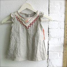 sweet linen top / by TwinkleVT