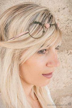 Chignons Romantiques, Fleur Rose, Bijou Fleur, Headband Bijoux, Bijoux De  Tete, bc0b4d9689e
