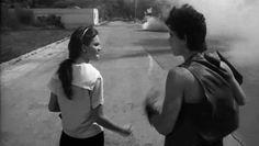 Diane Lane and Matt Dillon in Francis Ford Coppola's Rumble Fish (1982) DP: Stephen H. Burum