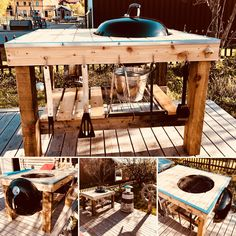 Weber barbecue table