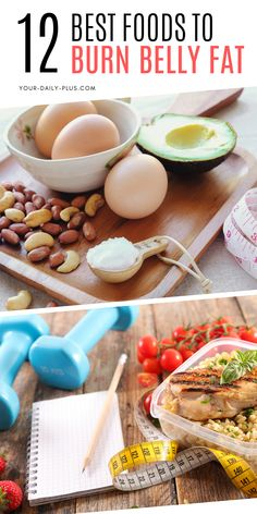12 Healthy Foods That Burn Belly Fat Belly fat is dangerous. Here are 12 belly fat burning foods to include in your diet and live a healthy and happy life. Fat Burning Supplements, Fat Burning Foods, Healthy Options, Healthy Recipes, Healthy Foods, Smoothie, Cut Out Carbs, Daily Vitamins, Burn Belly Fat