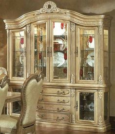 how to arrange a china cabinet - google search | dining room