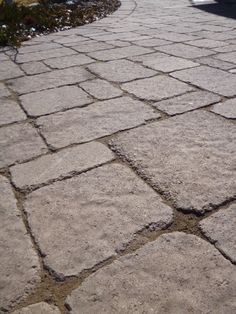 poured concrete and pavers patio | front keystone entry back patio paver patio poured concrete patio with ...