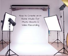 How to Create an In-Home Studio for Photo Shoots & Video Recording If you've ever tried to shoot a video in your home office for your business, then you kno