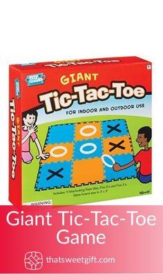 Giant Tic-Tac-Toe Game Tic Tac Toe Game, Gamer Gifts, Geek Stuff, Amazon, Games, Geek Things, Riding Habit, Toys, Game