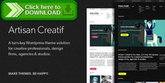[ThemeForest]Free nulled download Artisan Creatif – A WordPress Portfolio Theme from http://zippyfile.download/f.php?id=2348 Tags: audio, audio player, design agency, design firm, design studio, embed video, filterable, flv, mp3, mp4, portfolio, slider, video, vimeo, youtube