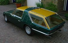 1965 Ferrari Station Wagon - some things are just wrong! A Ferrari grocery getter? Really?