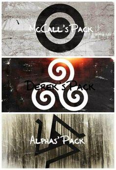 three packs, three warriors, and three main characters that we all love