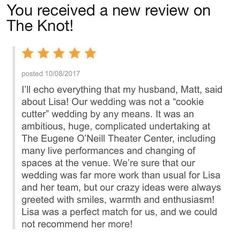 Incredible day!!! another review!!! I am always so honored when both members of our wedding couples take time to write reviews for us! Amazing!!! Adam and Matt let's do this wedding again! So much fun! #ccblct #ccbl #weddingdesigner #weddingplanner #fivestarreview #theknotreview #weddinginspo #weddinginspiration #ladyboss #gettingitdone #hustle #wegotthis