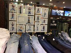 Denim Merchandising Inspo