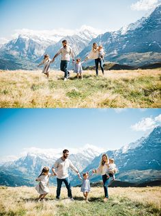 Taking families to the Swiss Alps for their family photos is one of my favourite things to do! These are just a few photos of this families Swiss Vacation! Swiss Alps, Family Photos, Things To Do, Vacation, Mountains, Amanda, Families, Photography, Joy
