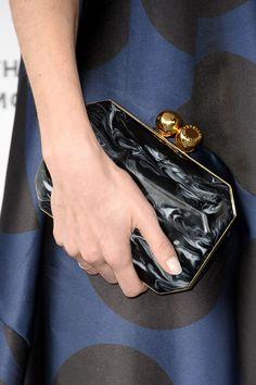 Lake Bell wearing @stellamccartney clutch – Film Independent Spirit Awards #2014