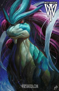 Suicune (by: Wizyakuza) Pokemon Realistic, Real Pokemon, Pokemon Pins, Pokemon Fan Art, Pokemon Super, Type Pokemon, Pokemon Fusion, Cartoon Network, Deviantart Pokemon