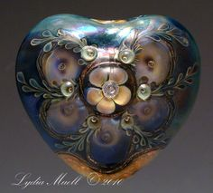 Harmonic Hearts - Lampwork Tutorial by Lydia Muell