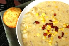 """""""I feel like there are as many ways to make homemade corn chowder as there are grandmothers on earth. We all have our methods!"""""""