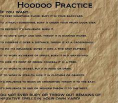 Hoodoo Magick Rootwork: #Hoodoo Practice.