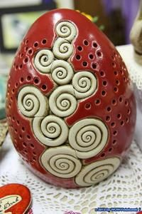 oster keramik - Google-Suche Clay Classes, Kids Clay, Arts And Crafts, Diy Crafts, Pottery Art, Pottery Ideas, Clay Projects, Gourds, Clay Art