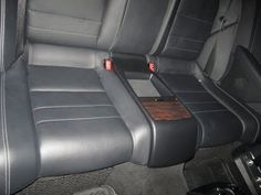(45) How to remove the rear seat bottom on a 2010 Mercedes E 550 W212 car - YouTube