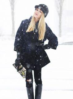 Alexandra Satin-Trimmed Wool Coat from #StellaMccartney | PS Dept.