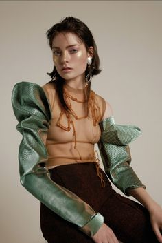 georgiapendlebury:  Interview Germany / by Nicolas Coulomb + Florence Tétier/ Isamaya Ffrench