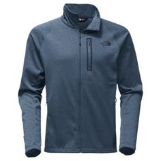 272212c9d39a The North Face Canyonlands Full Zip Jacket for Men - Shady Blue Heather -  2XL Jackets