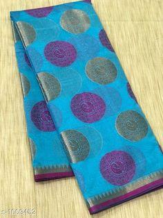Sarees Stylish Banarasi Cotton Silk Zari Work Saree  *Fabric* Saree - Banarasi Cotton Silk.  *Size* Saree Length - 5.50 Mtr.  *Work* Zari Work  *Sizes Available* Free Size *   Catalog Rating: ★4.1 (1679)  Catalog Name: Vanya Zari Woven Banarasi Cotton Silk Sarees CatalogID_121281 C74-SC1004 Code: 717-1009452-