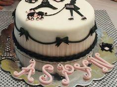 Amazing Photo of Paris Themed Birthday Cake Paris Themed Birthday Cake Paris Themed Birthday Cake Cakecentral Paris Birthday Cakes, Makeup Birthday Cakes, Paris Themed Cakes, Sweet 16 Birthday Cake, White Birthday Cakes, Paris Cakes, Cupcake Birthday Cake, Themed Birthday Cakes, Parisian Cake