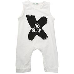 Gobrillant Boy Sleeveless Newborn Romper Bodysuit Jumpsuit Baby Clothes Outfits 1824 Months White * Want to know more, click on the image. (This is an affiliate link) #BabyBoyFootiesandRompers