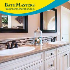 Find yourself a vanity that gleams with the professionals at BathMasters.