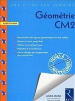 Fiches d'Exercices, Fiches de cours et évaluation et de programmations de GEOMETRIE au CM2