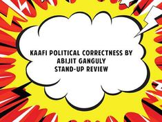 Reviews | Abijit Ganguly in his latest stand-up talks about the problems that have been rising in the blooming internet era under being politically correct, in a comical way. The piece was originally performed at Canvas Laugh Club (CLC). Stand Up Comedy, Clc, Laugh Out Loud, Laughter, Politics, Internet, Humor, Canvas, Tela