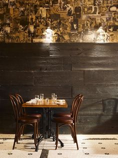 A MARKZEFF PROJECT: Interiors at The Smith restaurant in New York.