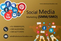 We create social media optimization strategies that can give your business a much-needed boost. We offer customized SMO packages that best meet your business goals. For more info call +91-9008099299, +380 66 283 4580, +380 667719090 and Visit Our Website: www.talentsearchranker.com #Social #smo #SocialMediabusiness #SMM #smmukraine #ukraine #ukrainedigitalmarketing #ukrainesmo #ukraineorm #ukraineseo Social Media Marketing Agency, Social Media Services, Digital Marketing, Business Goals, Ukraine, Meet, Website, Create, Search