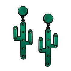 Desert Cactus Earrings