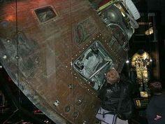 Apollo 13 Command capsule in Cosmosphere in Hutchinson
