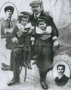 Joseph Philippe Lemercier Laroche (26 May 1886 – 15 April 1912) was a Paris-educated Haitian engineer. He was the only Afrakan passenger on the Titanic. Instead of saving himself, he put his pregnant wife and their two daughters onto a lifeboat; he told her he would meet her in New York. He stayed behind to help put all the women and children into the life boats, he perished risking his life and saving others. Joseph's daughter, Louise Laroche was one of the last-living survivors.