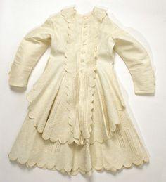 Late 19th.C. American dress.