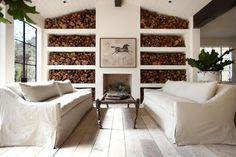 The Ranch at Live Oak Malibu  #firewood #fireplace