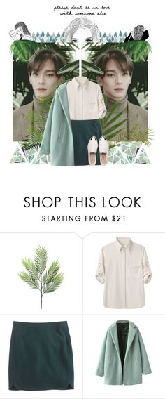 """""""It connects again without an end, can't live without you"""" by blue-neighbourhxxd ❤ liked on Polyvore featuring rag & bone, J.Crew, Chicnova Fashion, Miu Miu, kpop, EXO, exok, chen and jongdae"""