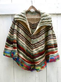 NEW Anthropologie Wool Blend Poncho Sweater One Size S M 4 6 8 10 #Anthropologie #Poncho